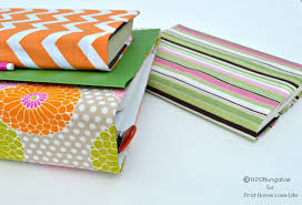 diy fabric notebook cover
