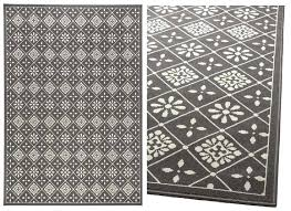 ikea flower rug rug in grey it seems that can be worn on both sides ikea