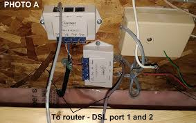 query using ethernet cable from phone jacks for internet tom s the distribution box at home has 2 phone jacks photo a feeding 2 rj11 cables 3 feet each into the modem s dsl 1 and 2 ports the modem router supports a