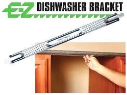 mount dishwasher under granite countertop pertaining to installing remodel 45