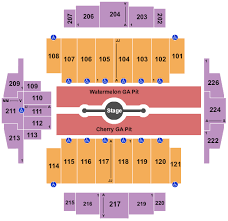 Mccurdy Pavilion Seating Chart