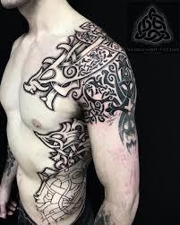 Stephen Sacred Knot Tattoo