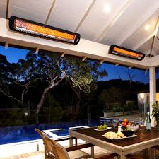 infrared patio heater. Bromic Heating Tungsten Smart-Heat 44-Inch 4000W Dual Element 208V Electric Infrared Patio Heater