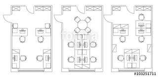 office room plan.  Plan Standard Furniture Symbols Used In Architecture Plans Icons Set Office  Planning Icon Graphic Throughout Office Room Plan R