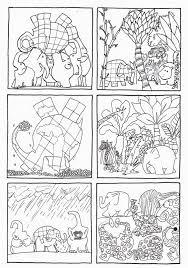 6 Images Séquentielles D Elmer De David Mc Kee édition