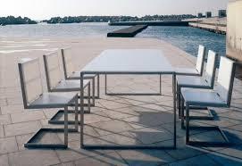modern outdoor dining furniture. Gandia Blasco Mesa Luna Modern Outdoor Dining Table Modern Outdoor Dining Furniture I