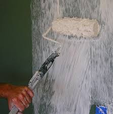 apply drywall brush texture the