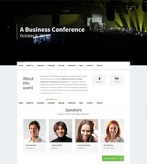 Event Website Template Best 24 Awesome WordPress Themes For Conference And Event 24 Colorlib