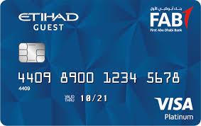 Credit Cards Visa Mastercard First Abu Dhabi Bank Uae