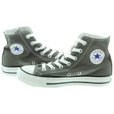 converse grey. converse chuck taylor all star hi boots in grey main image c