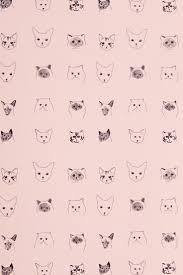 cute cat pattern wallpaper. Interesting Cat Cat Pattern Wallpaper Background Ipad Illustration Dog Wallpaper Wallpaper  Backgrounds Cute Wallpapers Iphone Throughout Pattern