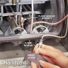 lennox flame sensor. clean the flame sensor lennox w