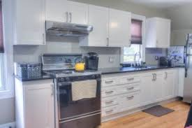 cabinet refacing white. White Shaker Kitchen Reface Brooklyn Cabinet Refacing