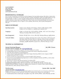 9 Summary Of Qualifications Resume Example Mbta Online