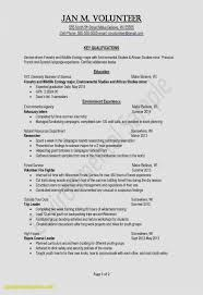 Resume Template High School Example High School Resume Awesome