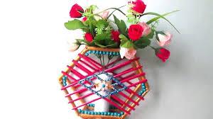 News Paper Flower Vase News Paper Craft Flower Vase Crafting