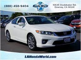Coupe 2015 Honda Accord Ex L V6 Coupe With 2 Door In Downey Ca 90241 Honda Accord Coupe Honda Accord Ex Honda Accord