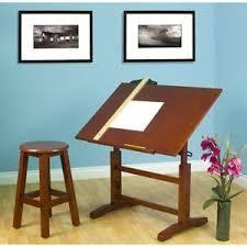 drafting table desk. Image Is Loading Drafting-Table-Desk-Wood-Artist-Walnut-Finish-Studio- Drafting Table Desk
