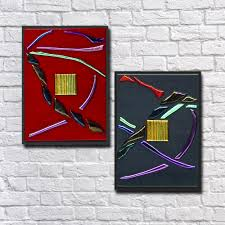 small flowing abstract wall art set of 2 go with the flow series  on abstract wall art set of 2 with small flowing abstract wall art set of 2 go with the flow series