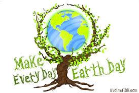 Earthday.org, washington, district of columbia. Amazon Com Evolvefish Make Every Day Earth Day Bumper Sticker 5 X 3 5 Automotive
