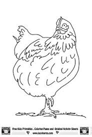Small Picture Free Rooster Pictures to Print Farm Animal Coloring Pages