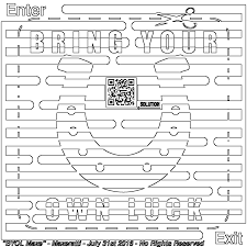 Casino Maze And Coloring For Adults