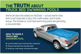 Why a Pickup-Truck Swimming Pool is a Very Bad Idea