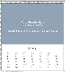 Create A Calendar Template Create A Gift Worthy Calendar In Photoshop Creativepro Com