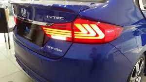 Honda City 2014 2015 Eagle Eyes Lexus Style Light Bar Led Tail