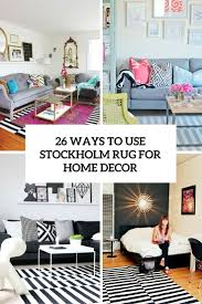 26 ways to use stockholm rug for home decor cover