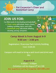 Pat Carpenter's Cheer and Basketball Camp