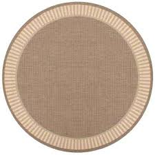 8 foot round outdoor rugs wicker stitch cocoa natural 8 ft x 8 ft round indoor 8 foot round outdoor rugs