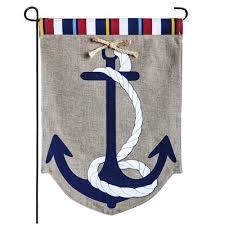 garden flags cheap. Anchor Burlap Garden Flag Flags Cheap