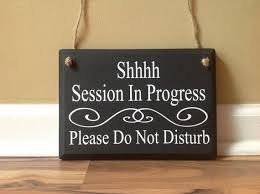 Session In Progress Door Sign Shhhh Session In Progress Please Do Not Disturb Office Sign Door Hanger Wood Sign Custom Hanging Therapy Massage Counseling Therapist