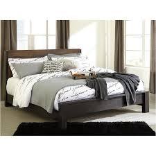 B320 58 Ashley Furniture Windlore Dark Brown King Panel Bed