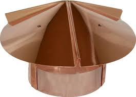 16 oz copper chimney cap