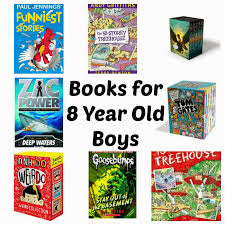 books for 8 year old boys