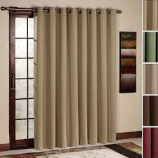 treatments for sliding glass doors grommet curtains