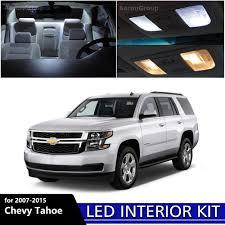 12PCS White Interior LED Interior Light Package Kit for 2007 ...