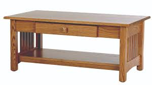 country hill mission small coffee table