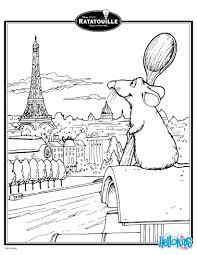 Ratatouille S Remy In Paris Coloring
