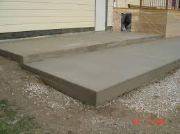 plain concrete patio. Plain Concrete Patio O