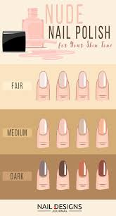 Skin Tone Nail Polish Color Matching Chart Pin On Cute And Fun Ideas