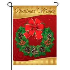 christmas garden flags. Christmas Wishes Garden Flag Flags