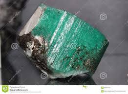 <b>Mineral Gemstone Green</b> Beryl Stock Image - Image of ...