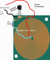 wireless cellphone charger circuit electronics wireless cellphone charger circuit