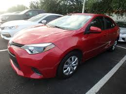 2015 Used Toyota Corolla 4DR SDN LE CVT at Central Florida Toyota ...