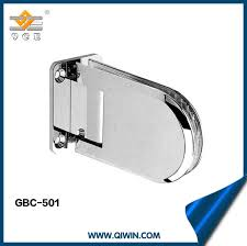 china single side wall mount framless bathroom glass door panel fitting china glass to glass shower hinge 0 degree