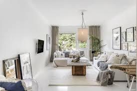 Een Knusse Witte Woonkamer Huis Inrichtencom