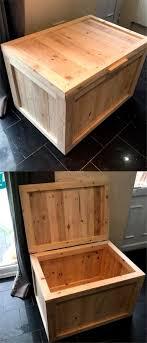 Diy Wooden Box Designs Pallet Wooden Box Idea New Design Pallet Furniture Diy